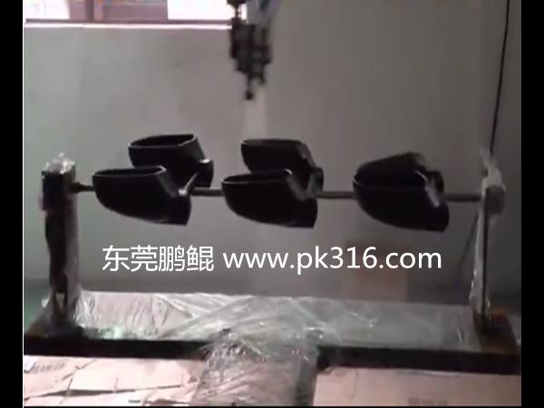 汽车配件自动化喷漆机
