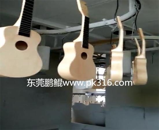 广东莞吉他箱自动喷漆设备