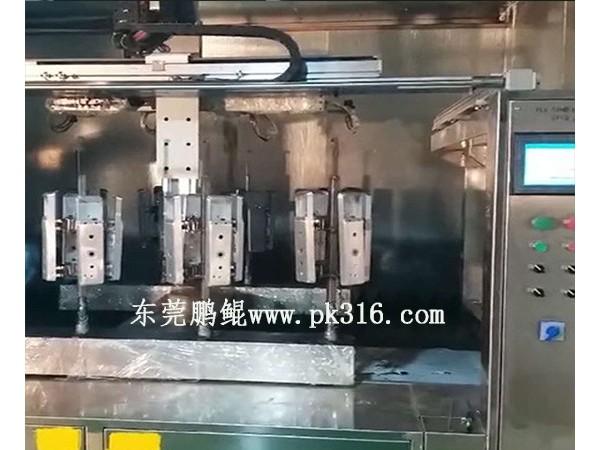 智能门锁自动喷漆机