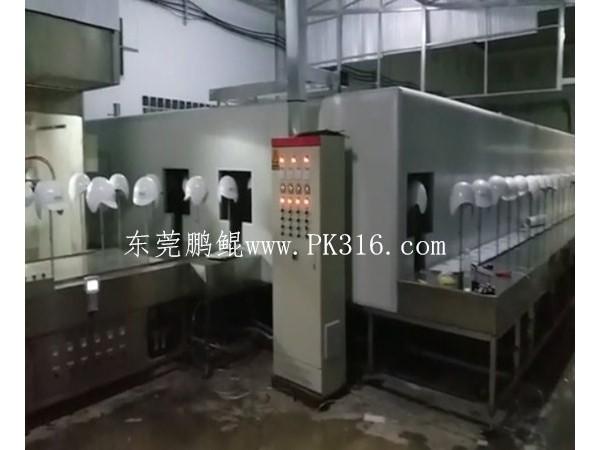 军盔UV自动喷涂生产线