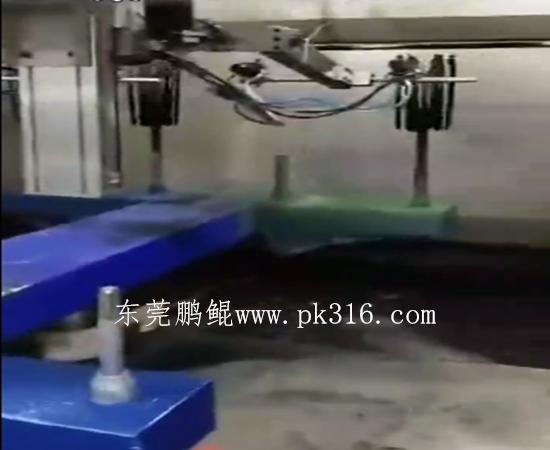 直发器自动喷涂机