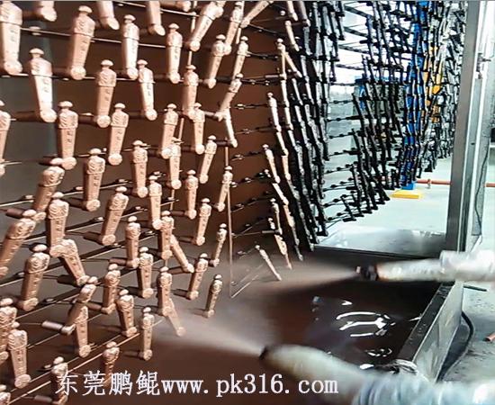上海自动喷漆流水线
