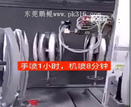 汽车行李架自动喷漆机