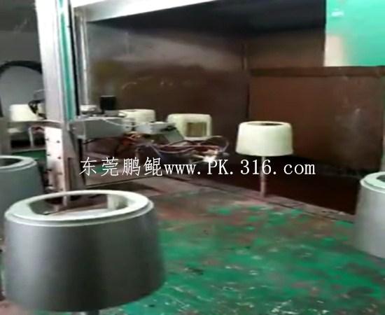 家电外壳自动喷漆机