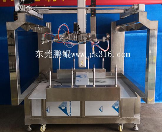 水钻头自动涂装设备