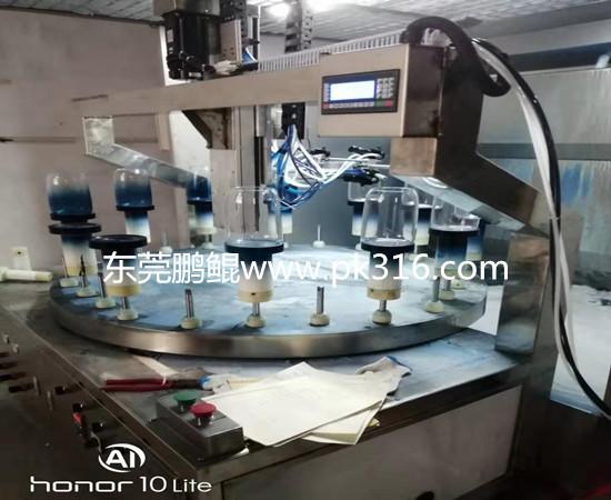 东莞渐变色玻璃杯喷涂设备 (3)