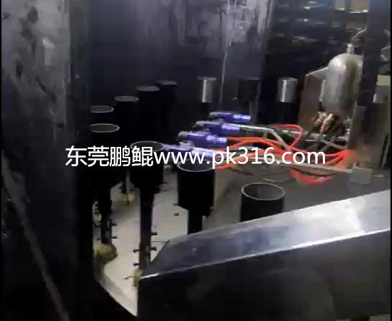 铁圈自动喷漆机器