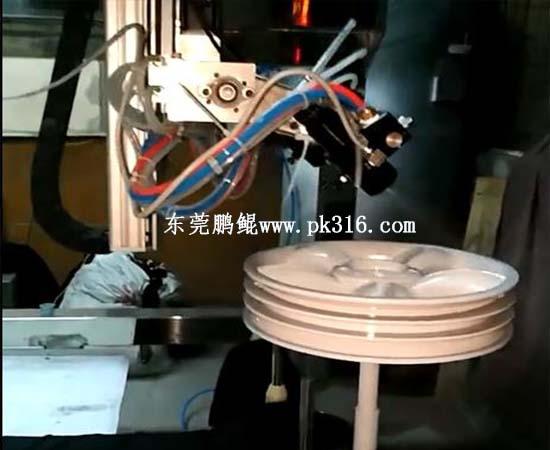 橡胶塑料玩具车轮自动喷涂设备2