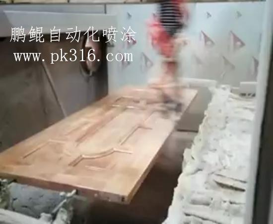 木门往复喷涂机