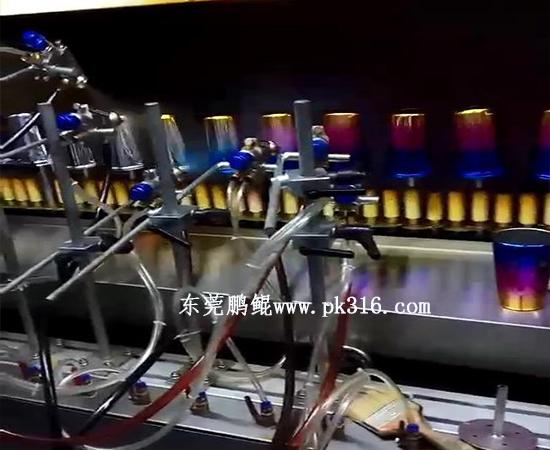 浙江不锈钢保温杯自动喷涂生产线1