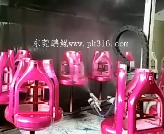 塑胶自动喷漆机