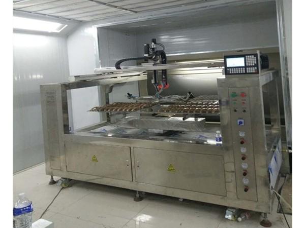 自动喷漆设备改变传统行业 增加产量提高工作效率