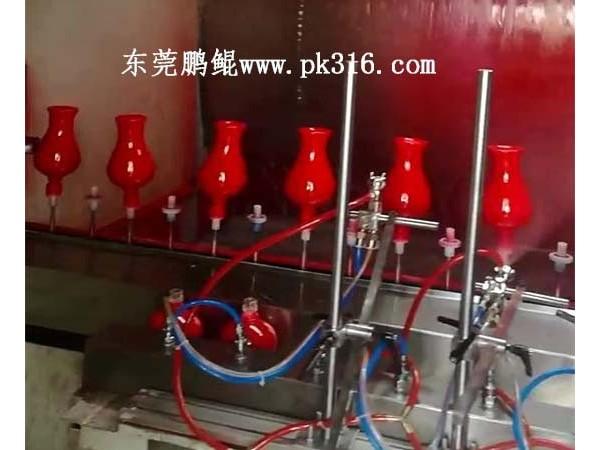 山东陶瓷玻璃酒瓶喷涂自动化生产线,厂家直销质量好!