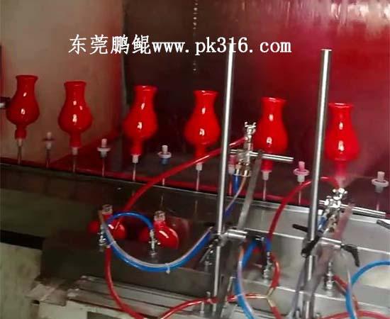 酒瓶喷涂自动化生产线1