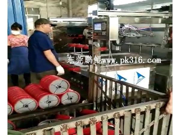 浙江金华角轮脚轮自动喷油设备内喷效率高!