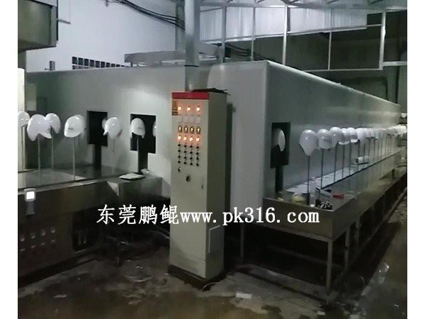 深圳涂装生产线怎样控制喷涂工件的颜色!