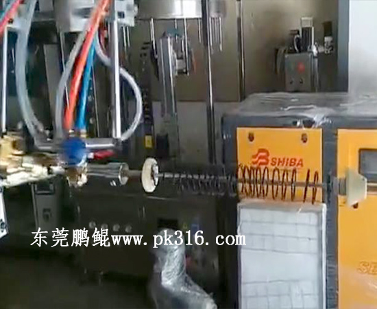 头绳皮筋喷胶机1