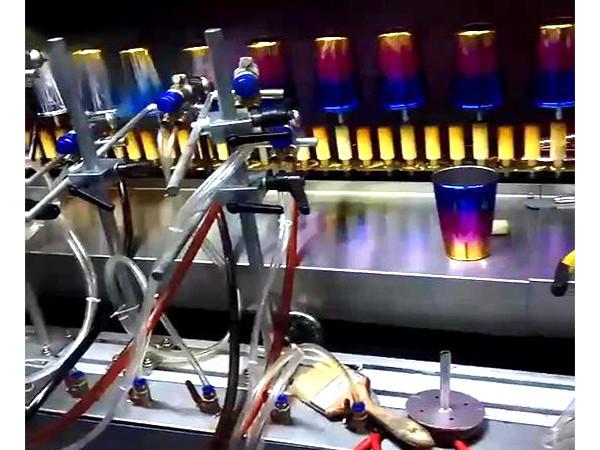 玻璃杯自动喷漆机
