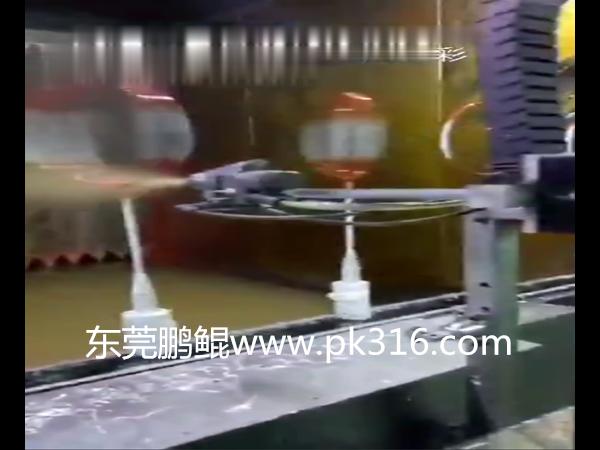 球拍喷涂机械