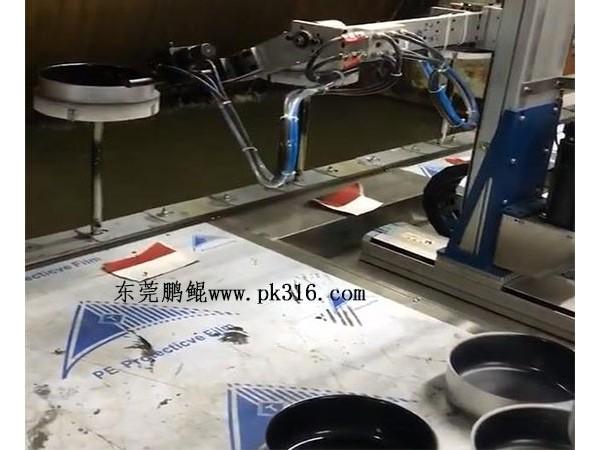 佛山不粘锅自动喷漆生产线有什么特点