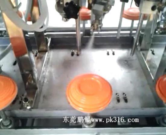玩具飞碟飞盘自动喷涂线