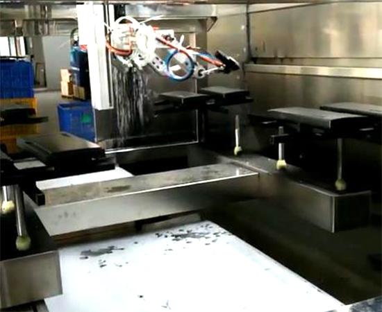 跑步机塑料件外壳自动喷漆