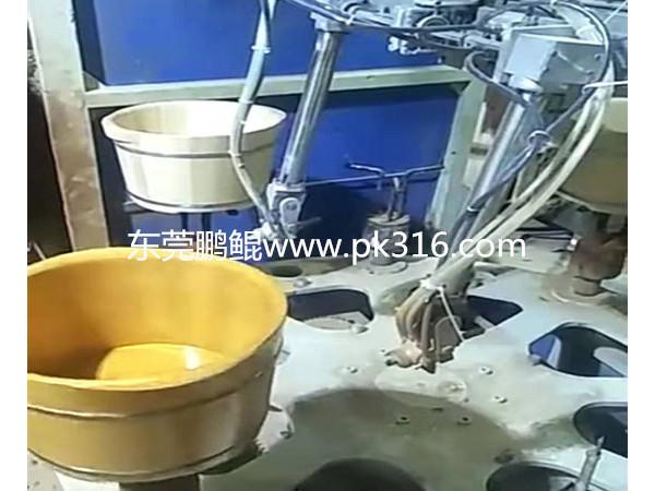 泡脚桶自动喷漆设备