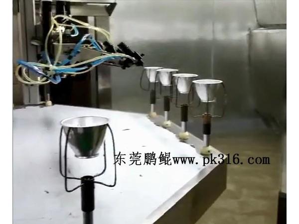 中山灯罩自动喷涂机