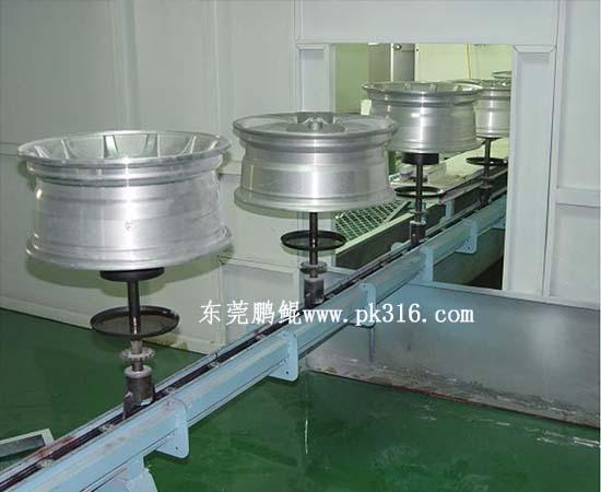 轮毂涂装生产线 (2)