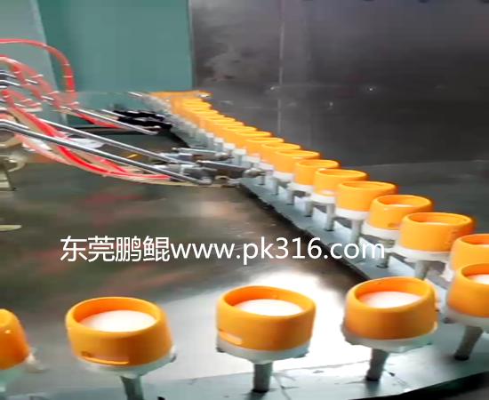 硅胶套自动喷漆机.