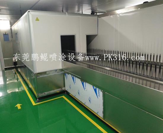 自动化喷涂地轨生产线1