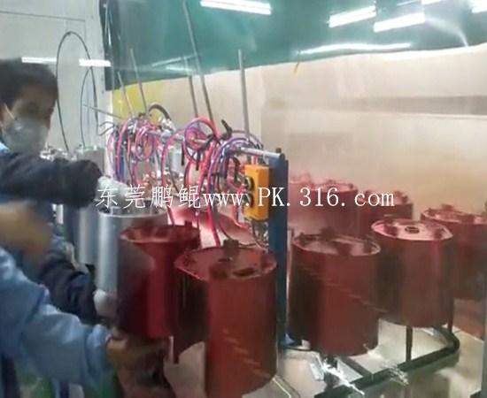 豆浆机自动喷漆线