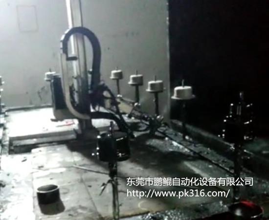 电机自动喷漆设备.