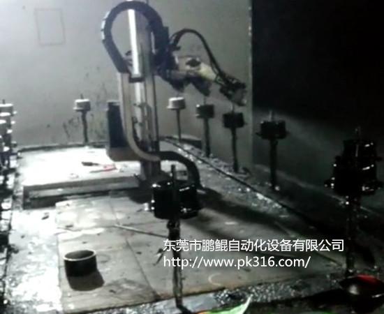 电机自动喷漆设备