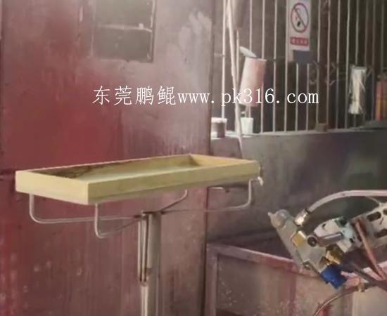 茶叶盒自动喷漆机