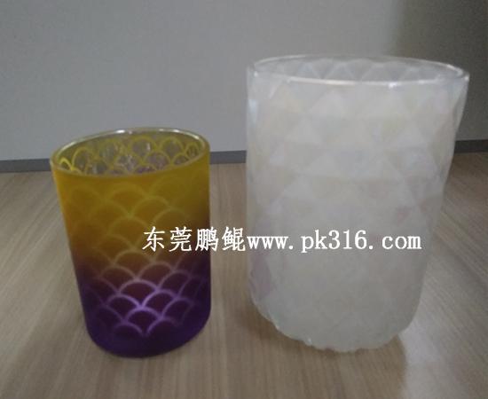 香薰蜡烛玻璃杯喷涂设备1