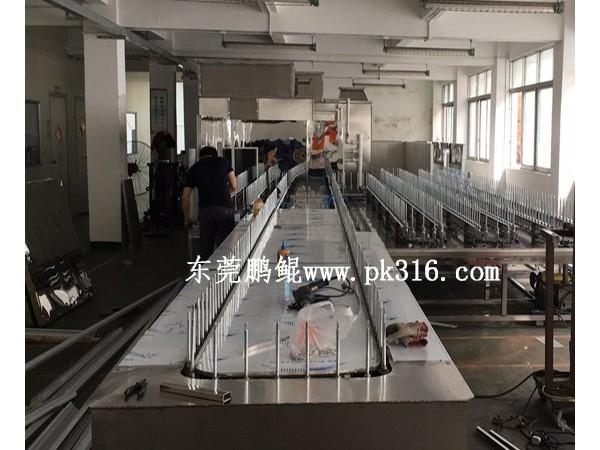 东莞哪个厂家生产3喷3烤带UV喷漆设备?