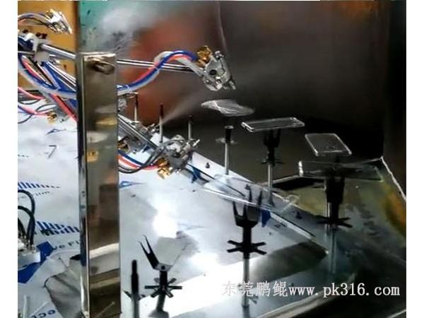 厂家直销东莞金属防指纹漆喷涂机哪里有?