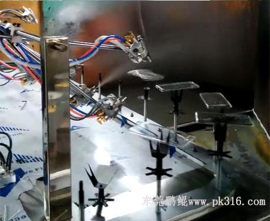 东莞金属防指纹漆喷涂机