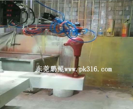 电吹风机五轴喷涂设备2