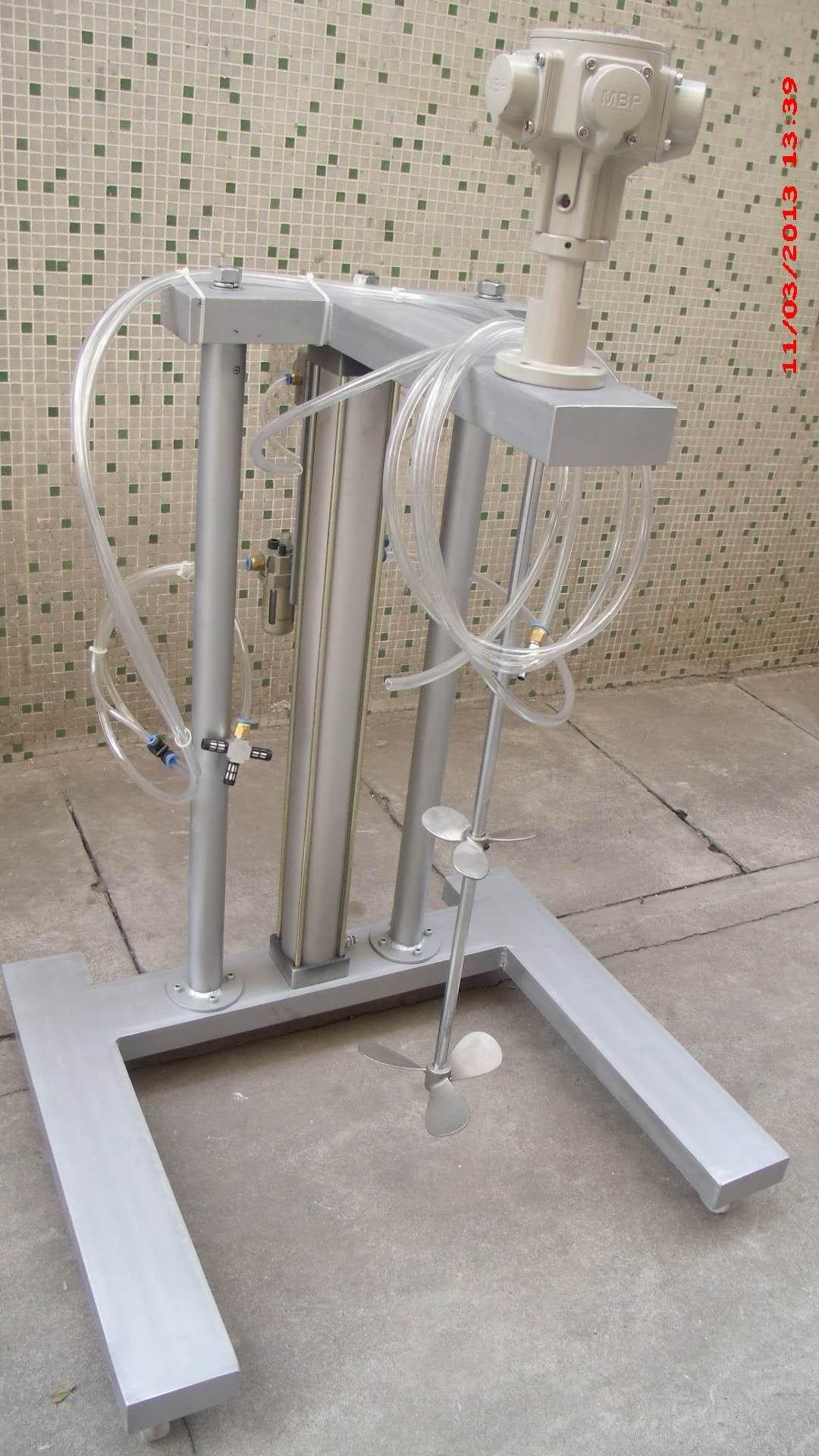 200L气动搅拌机