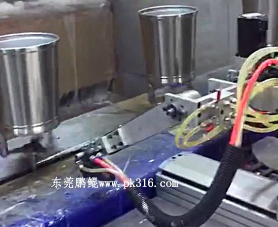 铁桶自动喷漆机