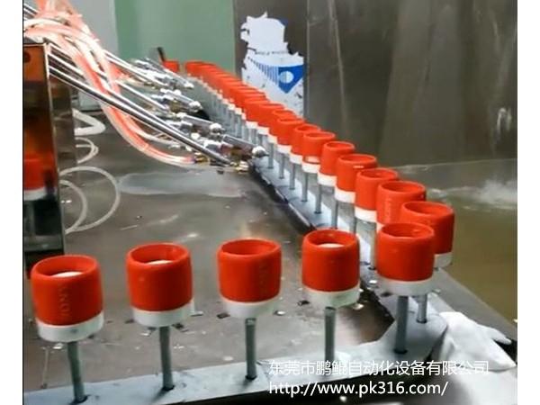 硅胶自动喷涂设备的特点及应用地!