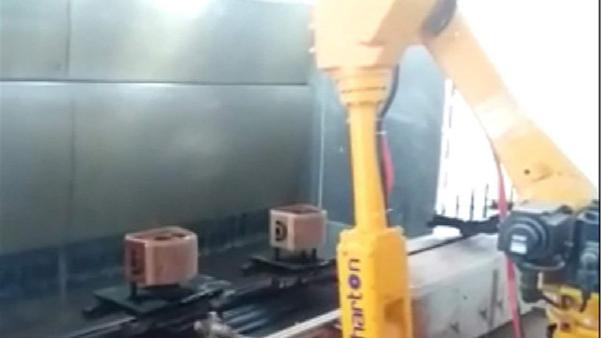 机器人自动喷涂自动抓取