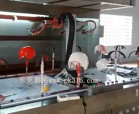 塑胶件自动喷漆机1