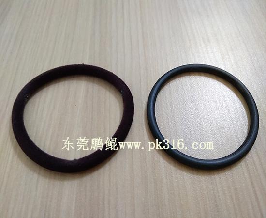 橡皮筋头绳发圈自动喷胶设备1