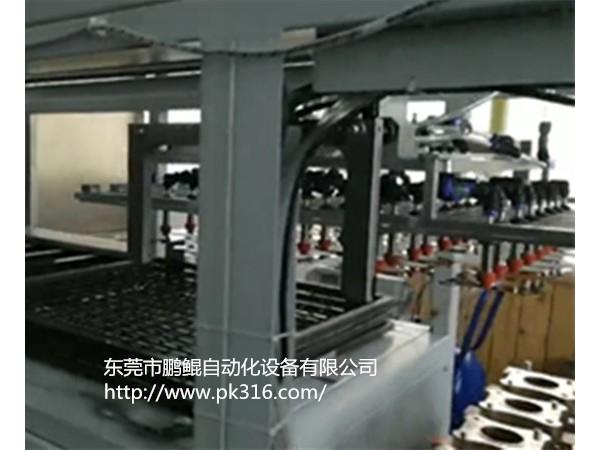 五金件自动上下料喷漆线生产厂家应用特点