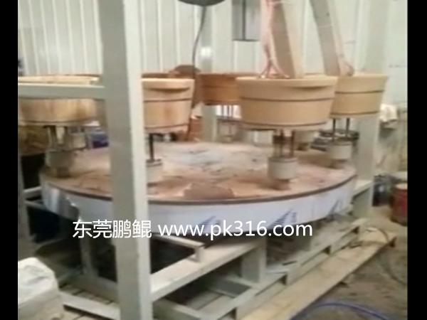 木桶自动喷漆设备代替人工喷涂!