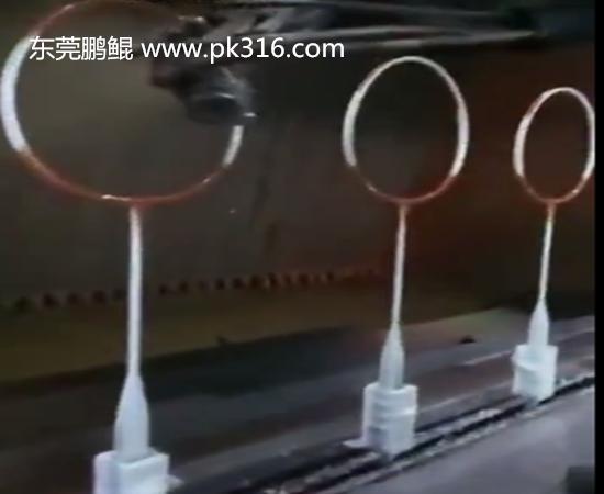羽毛球拍自动化喷涂设备