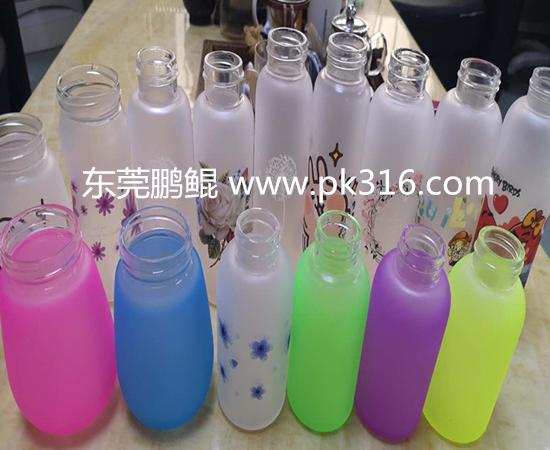 自动化玻璃杯玻璃瓶自动喷漆线
